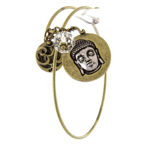 Buddha Charm Bracelet - Jewelry Buzz Box  - 1