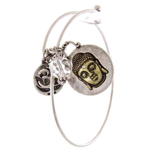 Buddha Charm Bracelet - Jewelry Buzz Box  - 2