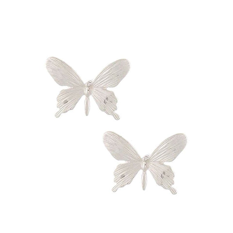 Floral Double Stud Earrings Set
