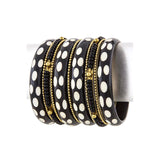 Flicker Bangle Bracelet Set - Jewelry Buzz Box
