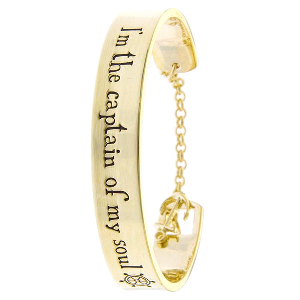 I Am The Captain Of My Soul Bracelet - Jewelry Buzz Box  - 1