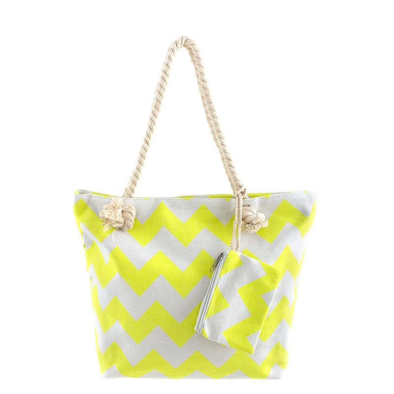 Beach Ready Canvas Tote Bag - Jewelry Buzz Box  - 3