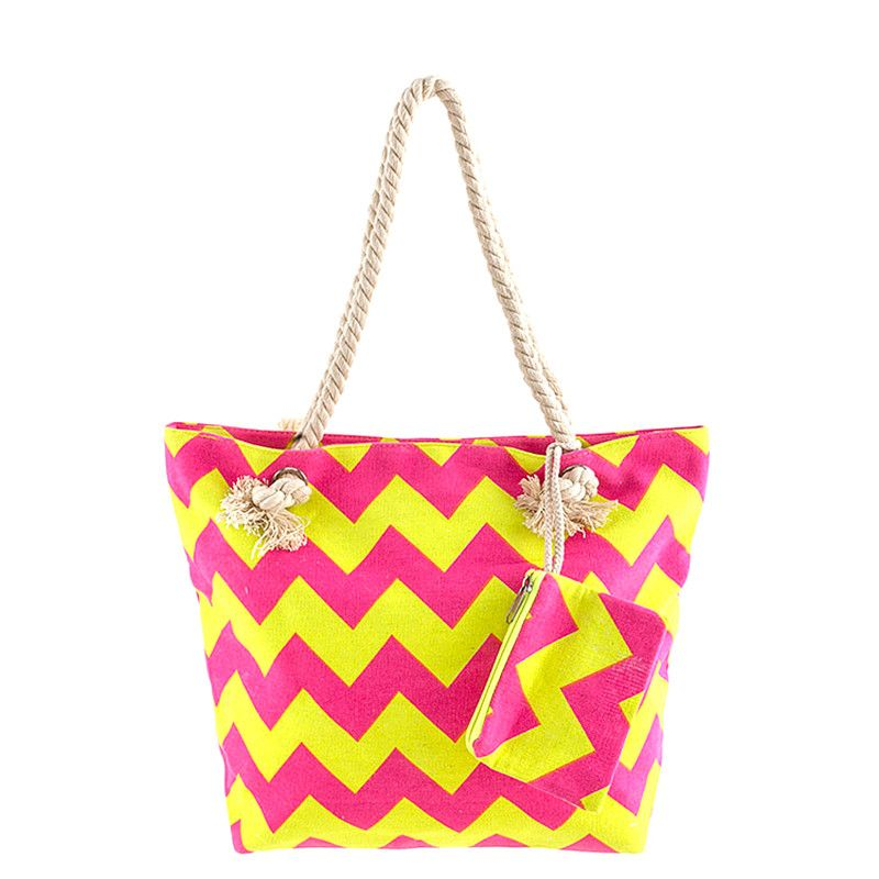 Beach Ready Canvas Tote Bag - Jewelry Buzz Box  - 4