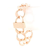 Glorious Oval Chain Link Bracelet - Jewelry Buzz Box  - 2