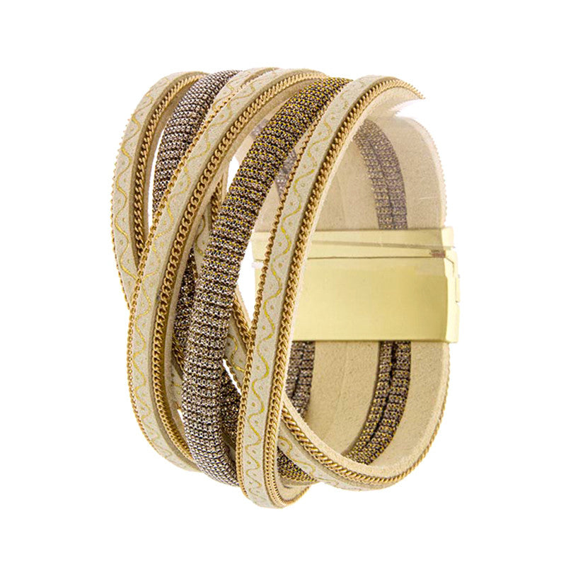 Fascinating Overlapped Bracelet - Jewelry Buzz Box