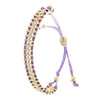 Crystal Adjustable Bracelet - Jewelry Buzz Box  - 3