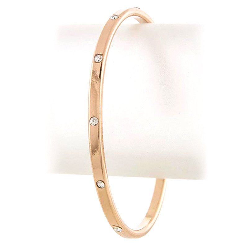 Crystal Bangle - Jewelry Buzz Box  - 1
