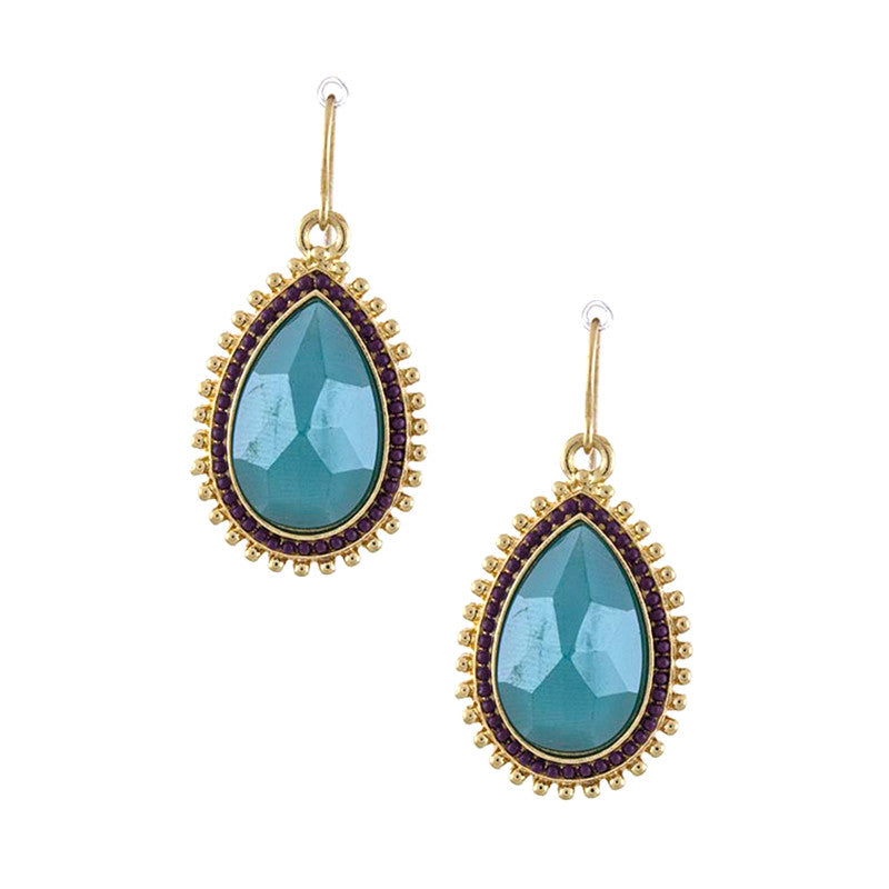 Glorious Teardrop Earrings - Jewelry Buzz Box  - 1
