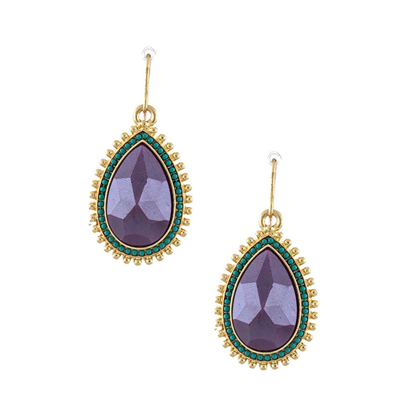 Glorious Teardrop Earrings - Jewelry Buzz Box  - 3