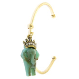 Elegant Elephant Cuff Bracelet - Jewelry Buzz Box  - 2