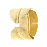 Leaf Arm Cuff - Jewelry Buzz Box  - 1
