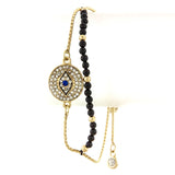 Evil Eye Beaded Bracelet - Jewelry Buzz Box  - 2