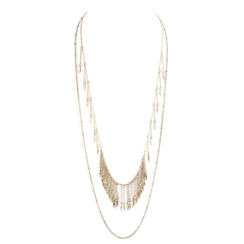 Fabulous Fringe Necklace - Jewelry Buzz Box  - 4