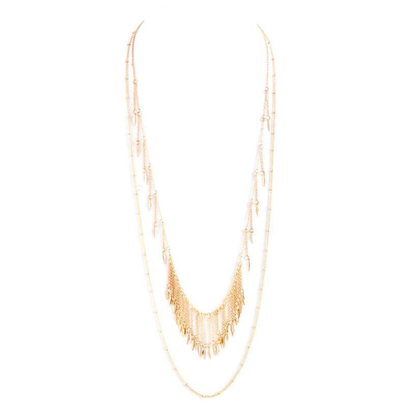Fabulous Fringe Necklace - Jewelry Buzz Box  - 3