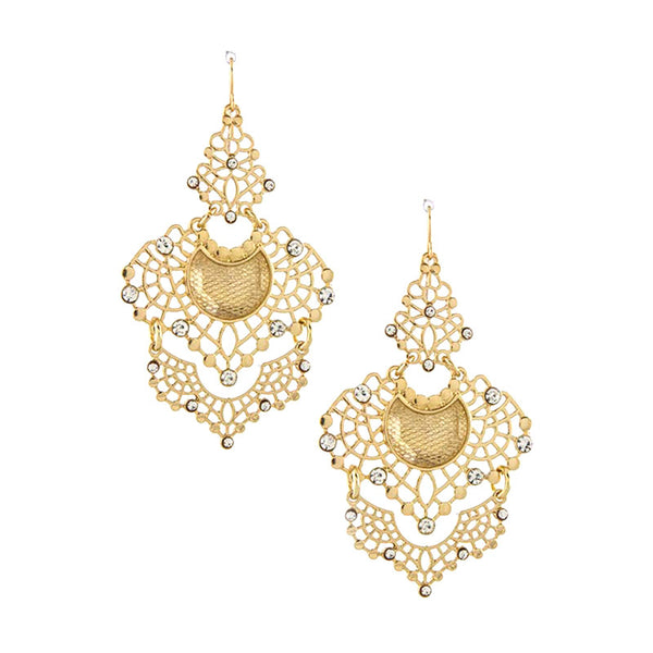 Dignified Earrings - Jewelry Buzz Box  - 1