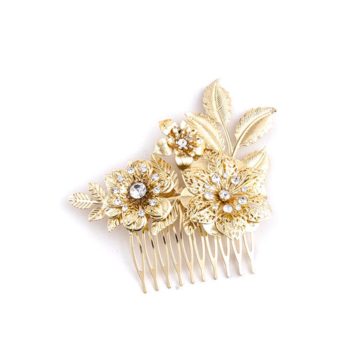 Classic Floral Hair Pin - Jewelry Buzz Box  - 1