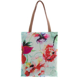 Floral Tote Bag - Jewelry Buzz Box  - 1