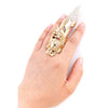 Crystal Armor Ring - Jewelry Buzz Box  - 3