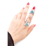 Dazzling Chain Link Ring - Jewelry Buzz Box  - 5