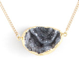 Druzy Geo Necklace - Jewelry Buzz Box  - 3
