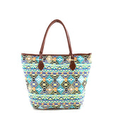 Dazzling Aztec Tote Bag - Jewelry Buzz Box  - 3