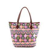 Dazzling Aztec Tote Bag - Jewelry Buzz Box  - 1