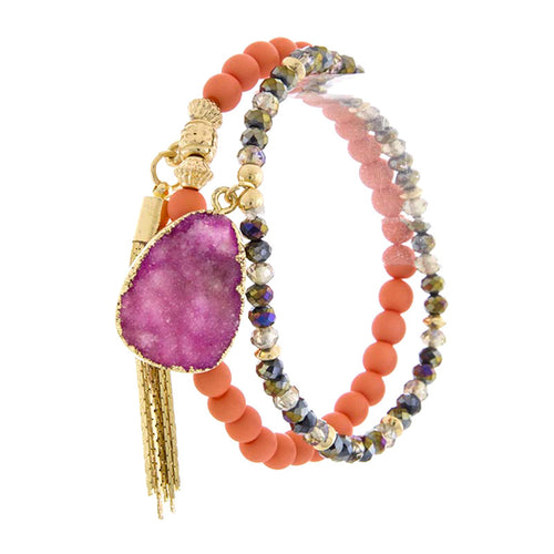Exquisite Bead Layer Bracelet - Jewelry Buzz Box  - 2