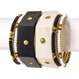 Hexagon Bangles - Jewelry Buzz Box