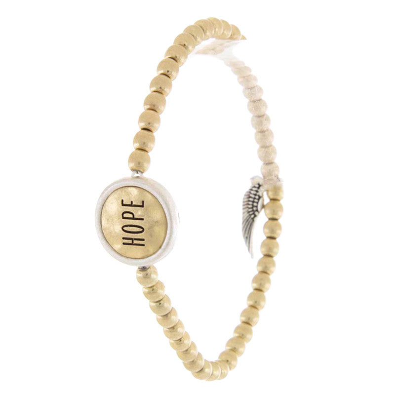 Etched Hope Bracelet - Jewelry Buzz Box