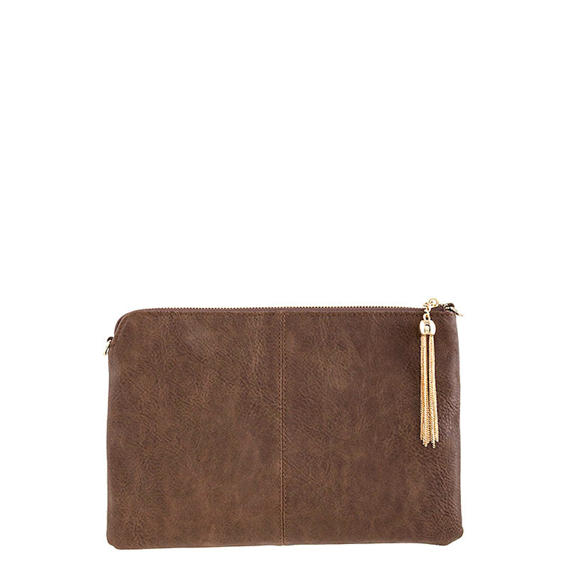 Simple Leather Clutch - Jewelry Buzz Box  - 2