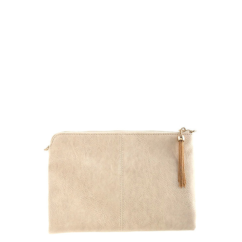 Simple Leather Clutch - Jewelry Buzz Box  - 3