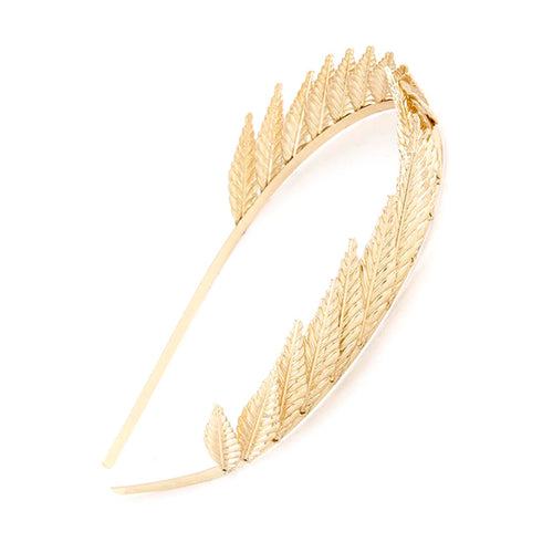 Spiky Leaf Headband - Jewelry Buzz Box  - 1