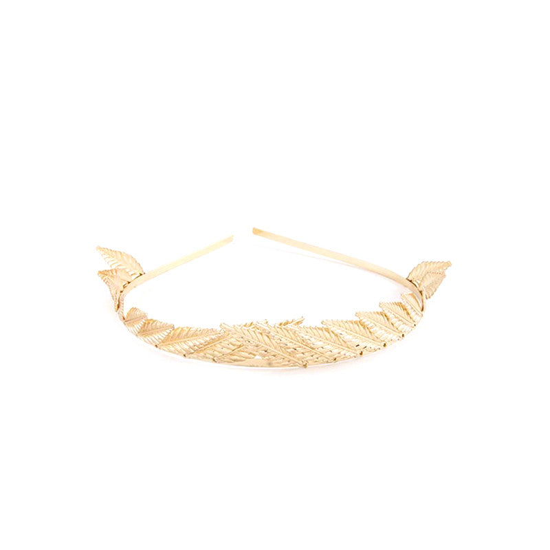 Spiky Leaf Headband - Jewelry Buzz Box  - 3