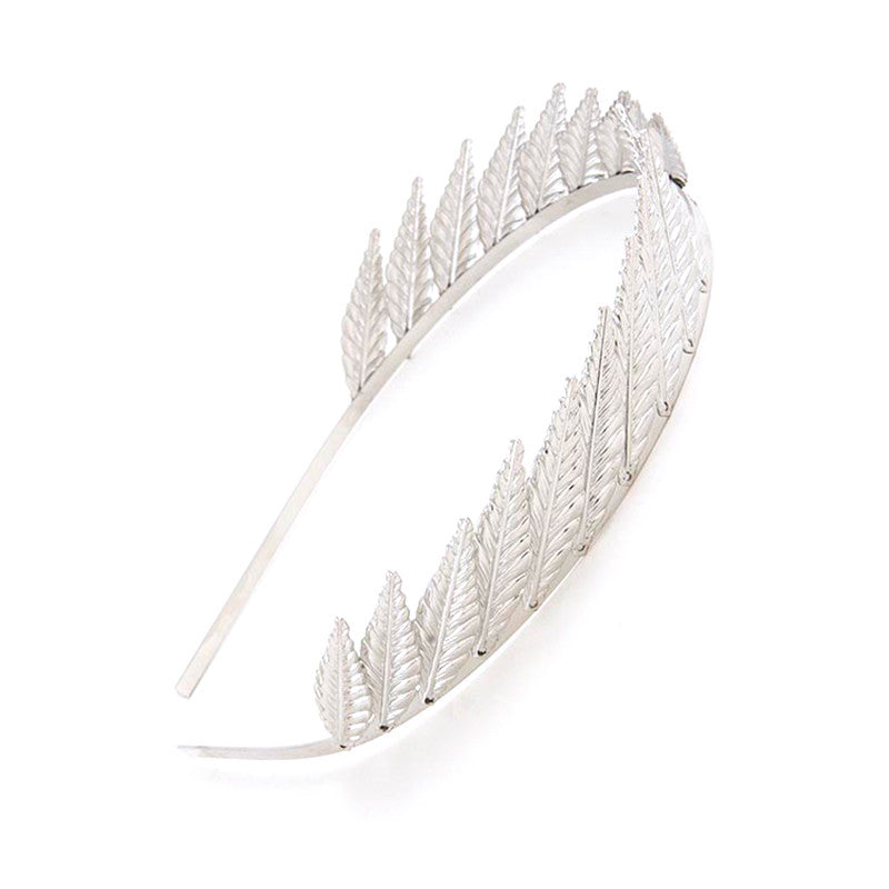 Spiky Leaf Headband - Jewelry Buzz Box  - 2
