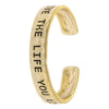 Live The Life You Love Bracelet - Jewelry Buzz Box  - 2