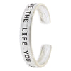 Live The Life You Love Bracelet - Jewelry Buzz Box  - 1