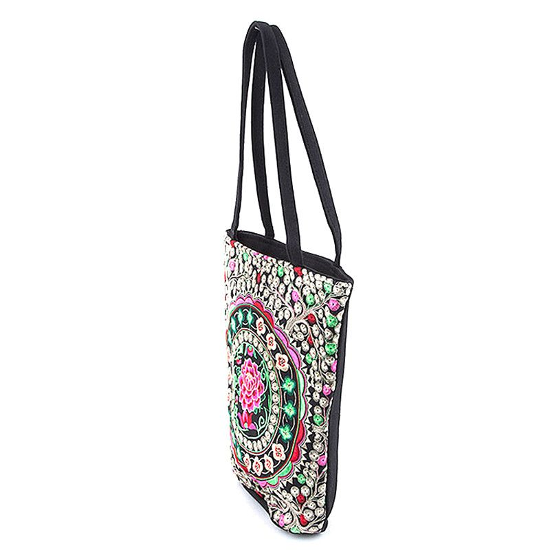 Beautiful Floral Tote Bag - Jewelry Buzz Box  - 2