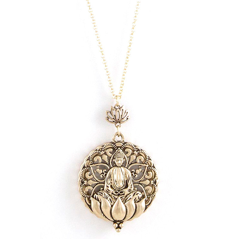 Zen Necklace - Jewelry Buzz Box  - 1