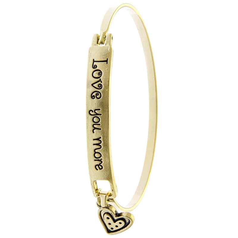 Love You More Bracelet - Jewelry Buzz Box