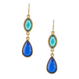 Glitz Ornate Drop Earrings - Jewelry Buzz Box  - 1