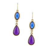 Glitz Ornate Drop Earrings - Jewelry Buzz Box  - 3
