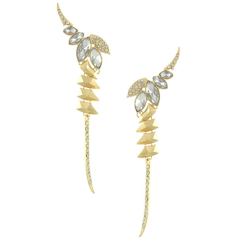 Goddess Ear cuff Earrings - Jewelry Buzz Box  - 1