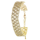 Rhinestone Bracelet - Jewelry Buzz Box  - 1