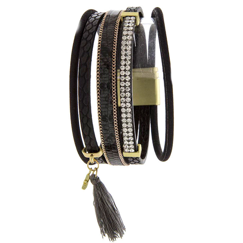 Twinkle Tassel Bracelet - Jewelry Buzz Box  - 1