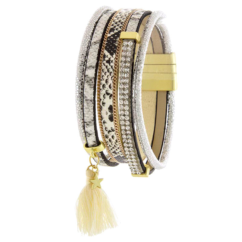 Twinkle Tassel Bracelet - Jewelry Buzz Box  - 2