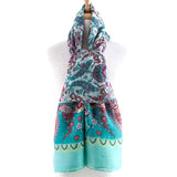 Detailed Jacquard  Scarf - Jewelry Buzz Box  - 1