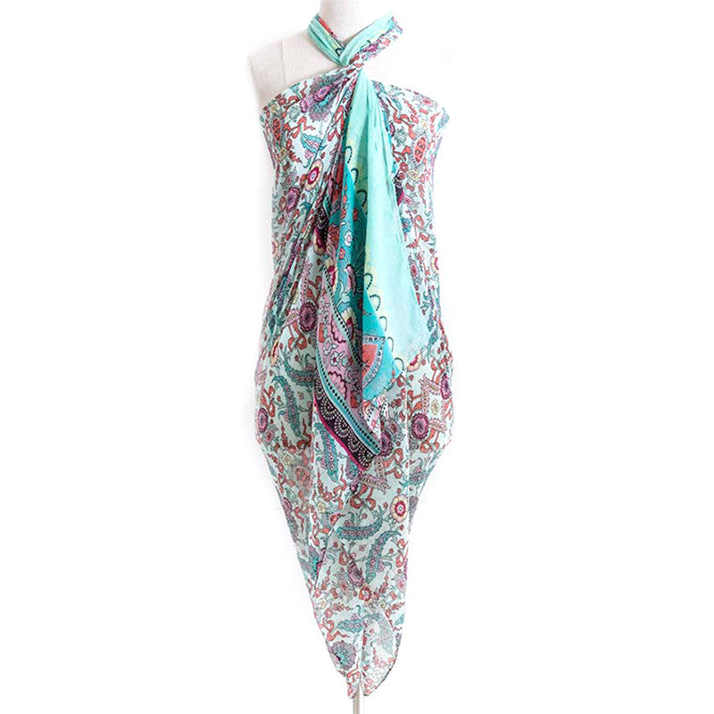 Detailed Jacquard  Scarf - Jewelry Buzz Box  - 2