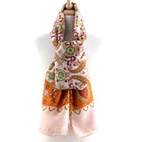Detailed Jacquard  Scarf - Jewelry Buzz Box  - 3