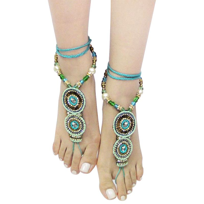 Bohemian Toe Anklet - Jewelry Buzz Box  - 1