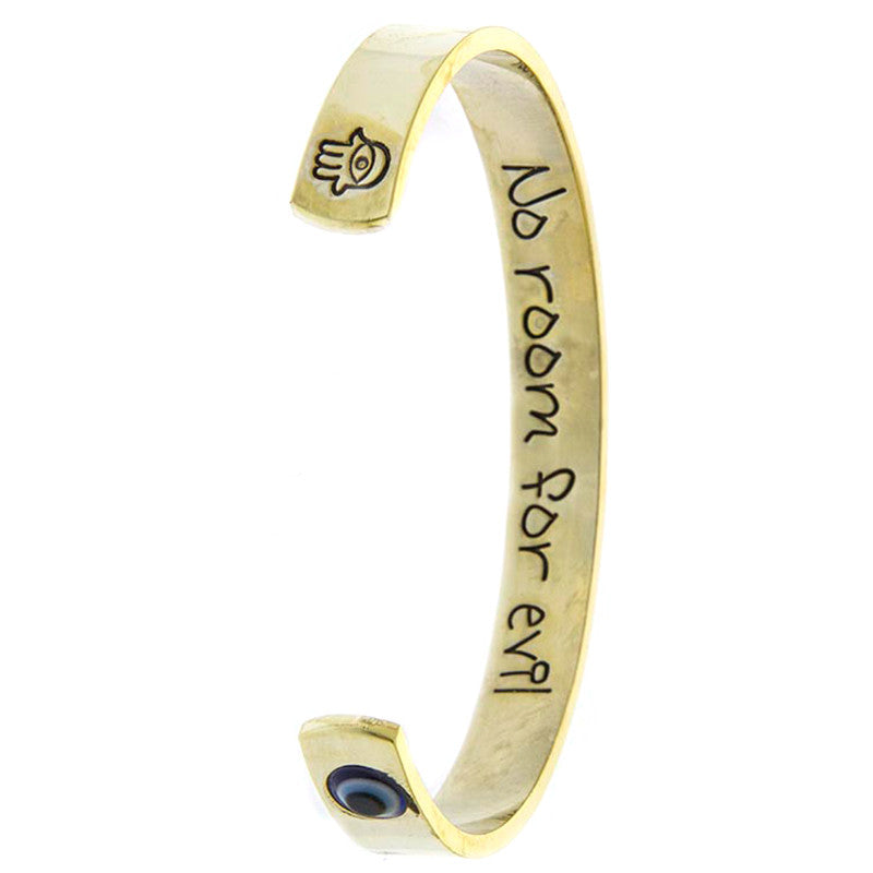 No Room For Evil Bracelet - Jewelry Buzz Box  - 1